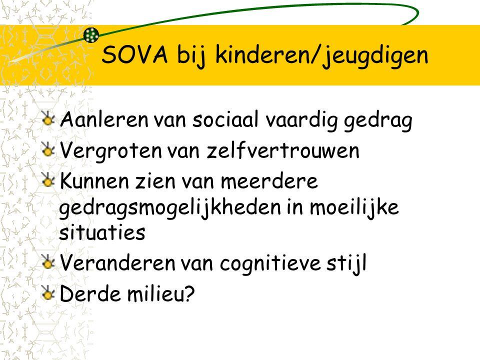 SOVA bij kinderen/jeugdigen