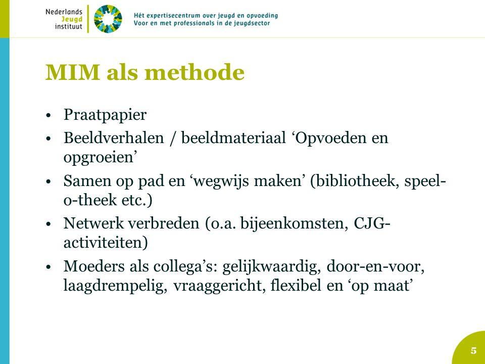 MIM als methode Praatpapier