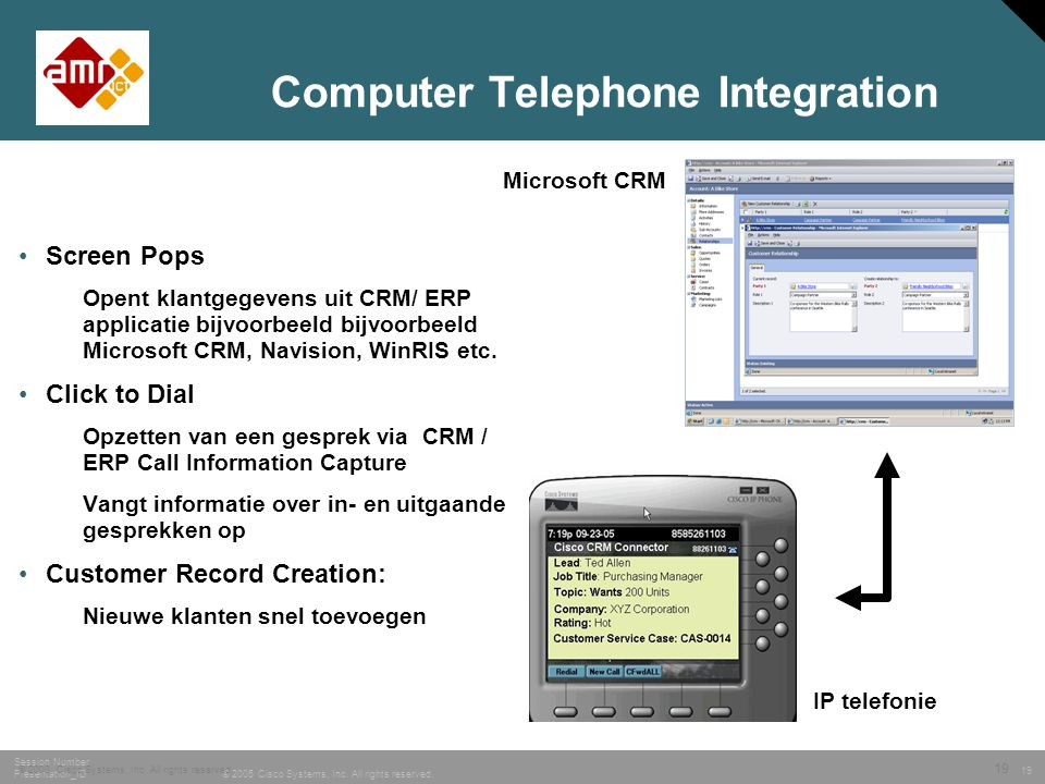 Computer Telephone Integration