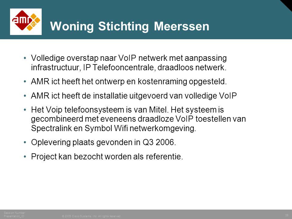 Woning Stichting Meerssen