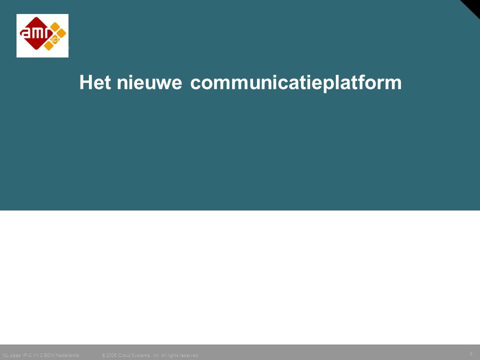 Het nieuwe communicatieplatform
