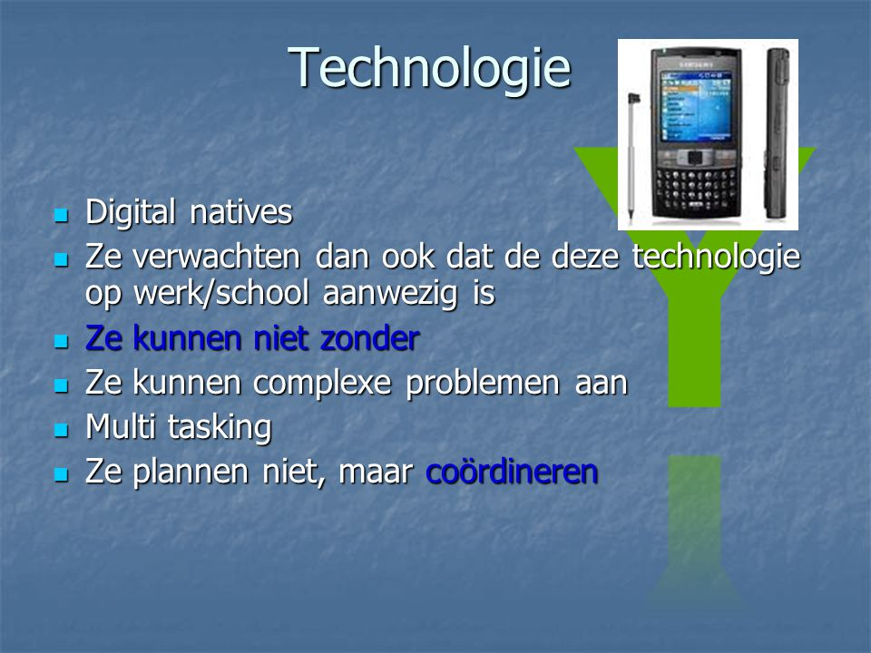 Technologie Digital natives