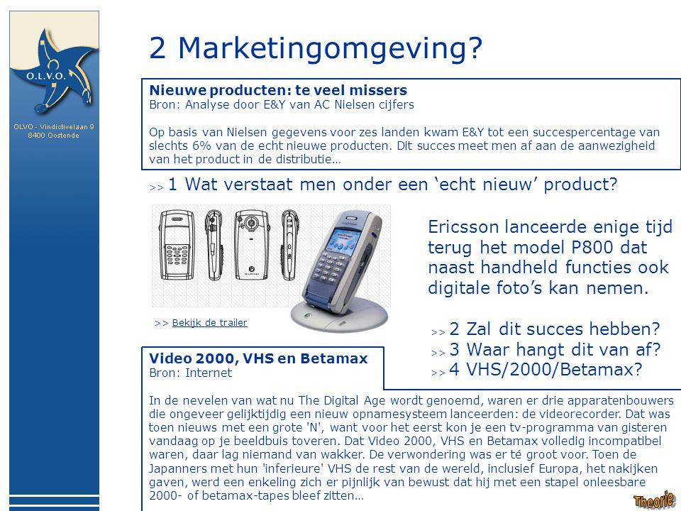 2 Marketingomgeving