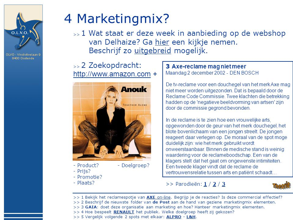 4 Marketingmix