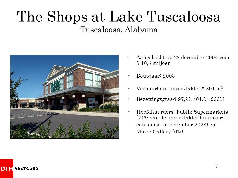 The Shops at Lake Tuscaloosa Tuscaloosa, Alabama