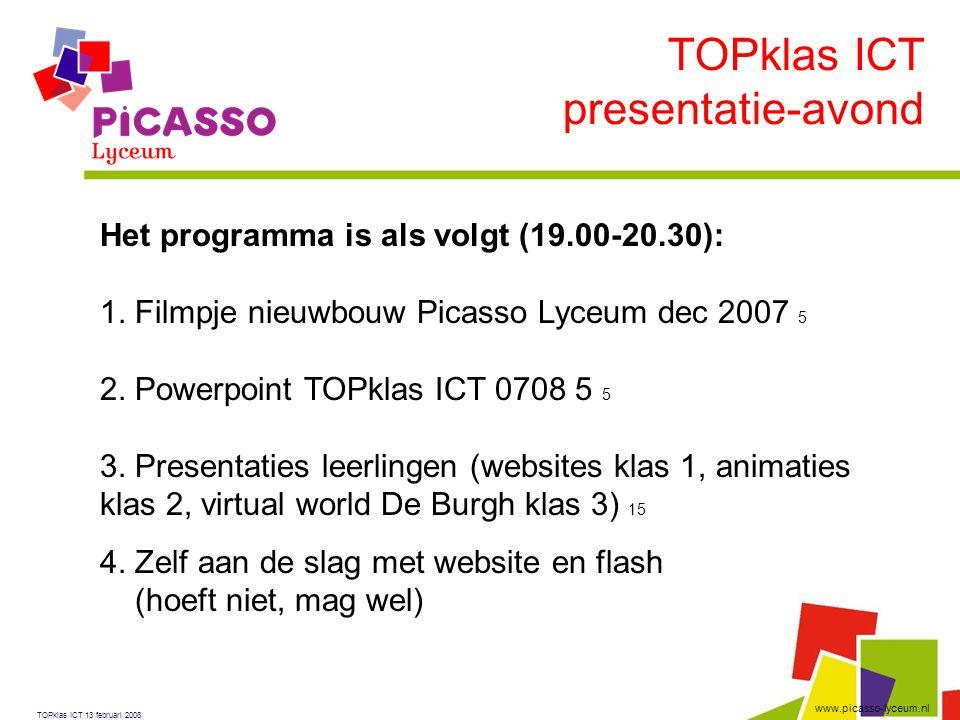 TOPklas ICT presentatie-avond