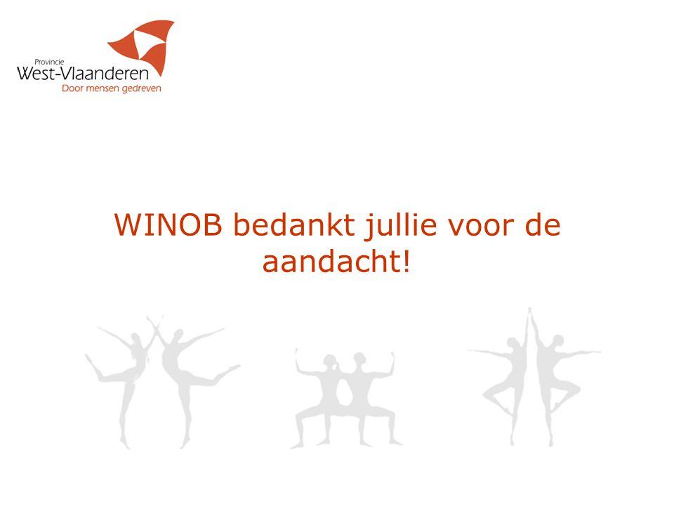 WINOB bedankt jullie voor de aandacht!
