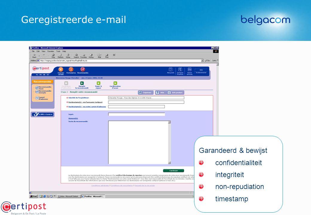 Geregistreerde e-mail
