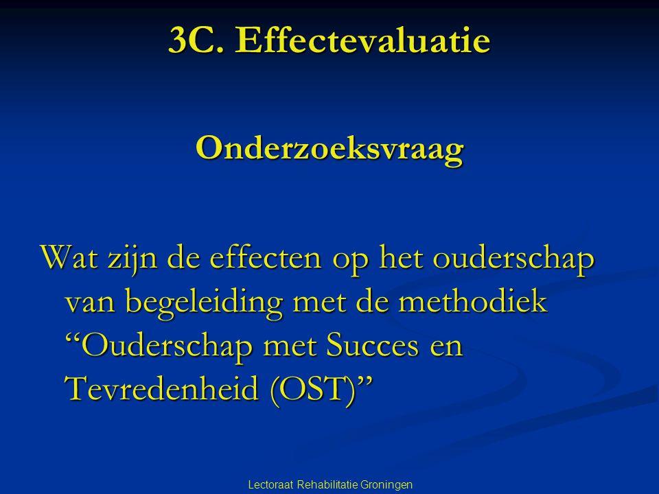 3C. Effectevaluatie Onderzoeksvraag