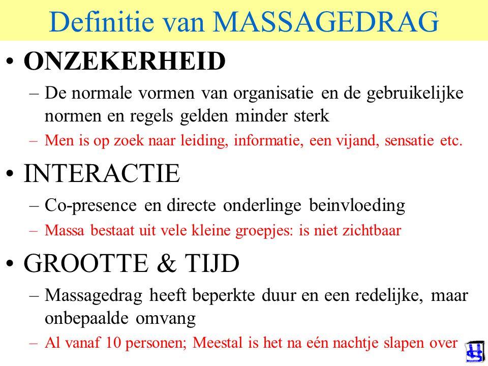 Definitie van MASSAGEDRAG