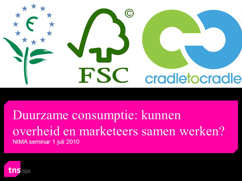Duurzame consumptie: kunnen overheid en marketeers samen werken