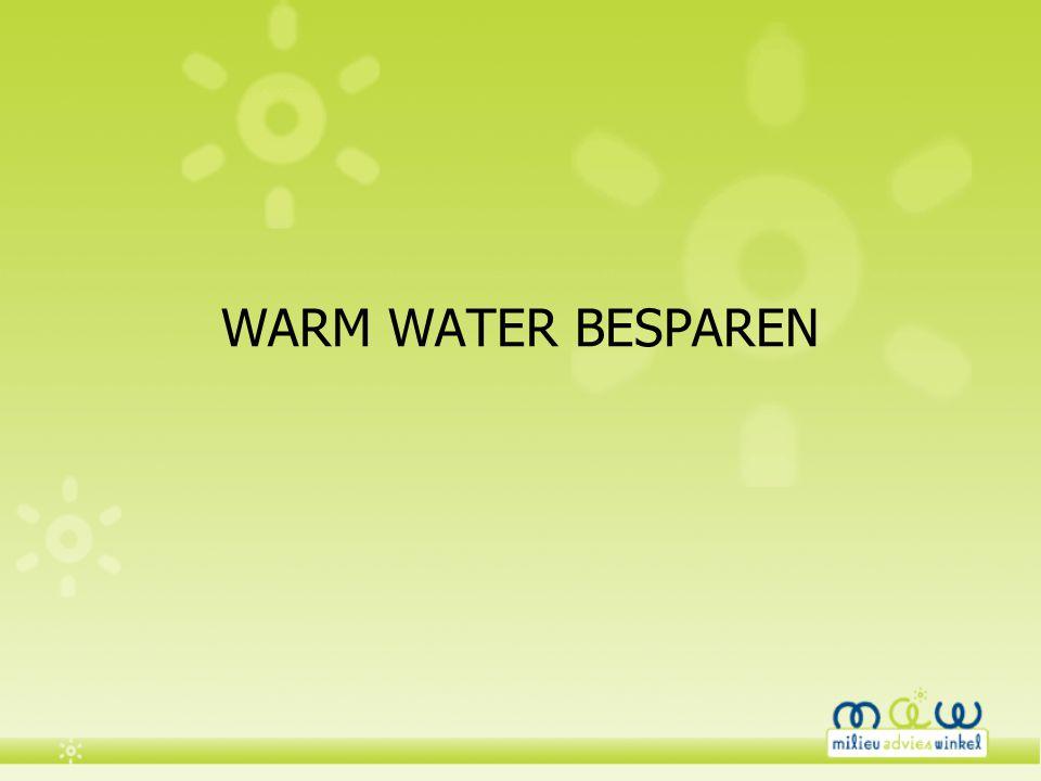 WARM WATER BESPAREN