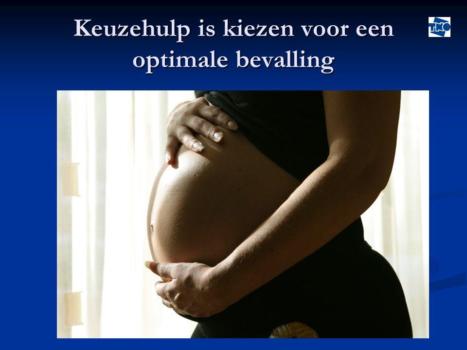 Keuzehulp is kiezen voor een optimale bevalling