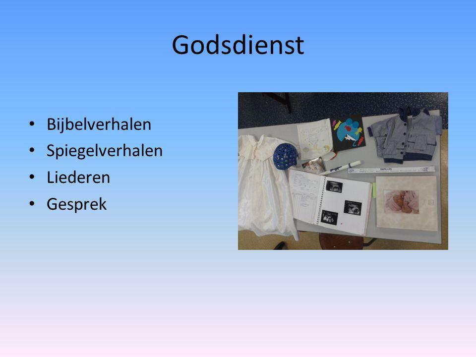 Godsdienst Bijbelverhalen Spiegelverhalen Liederen Gesprek