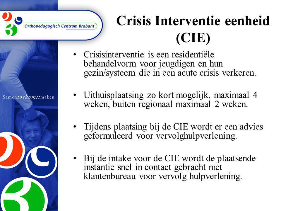 Crisis Interventie eenheid (CIE)