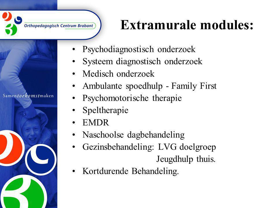 Extramurale modules: Psychodiagnostisch onderzoek