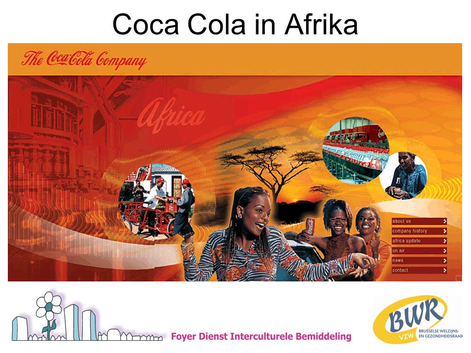 Coca Cola in Afrika