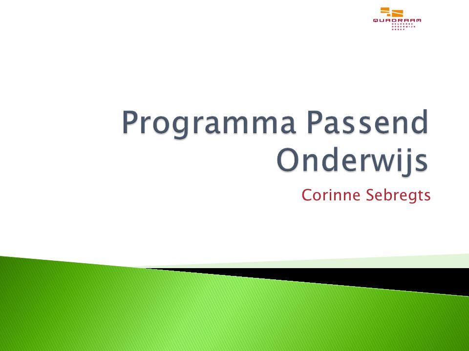 Programma Passend Onderwijs