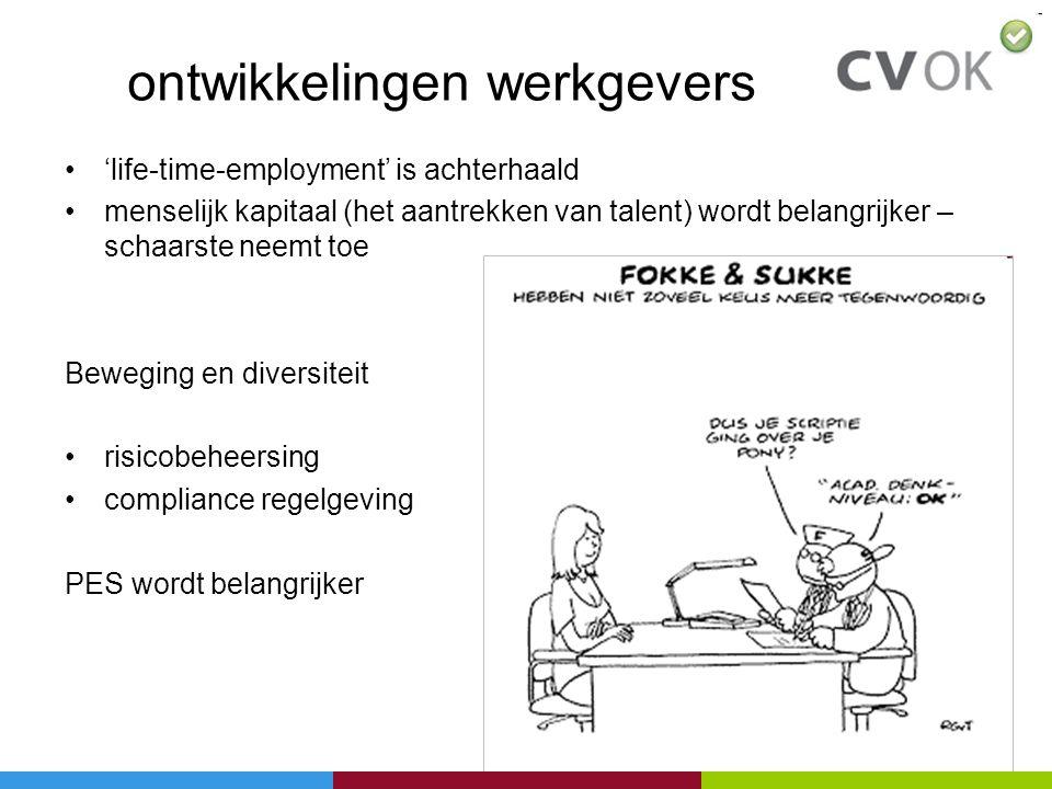 ontwikkelingen werkgevers