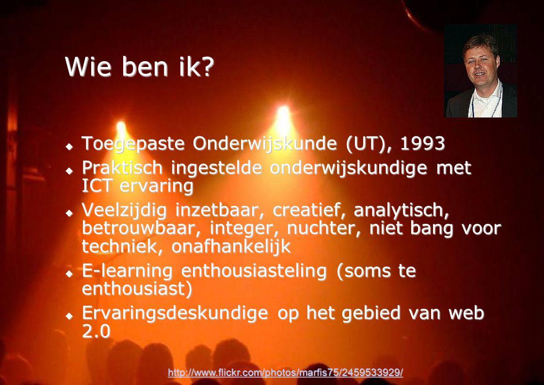 Wie ben ik Toegepaste Onderwijskunde (UT), 1993