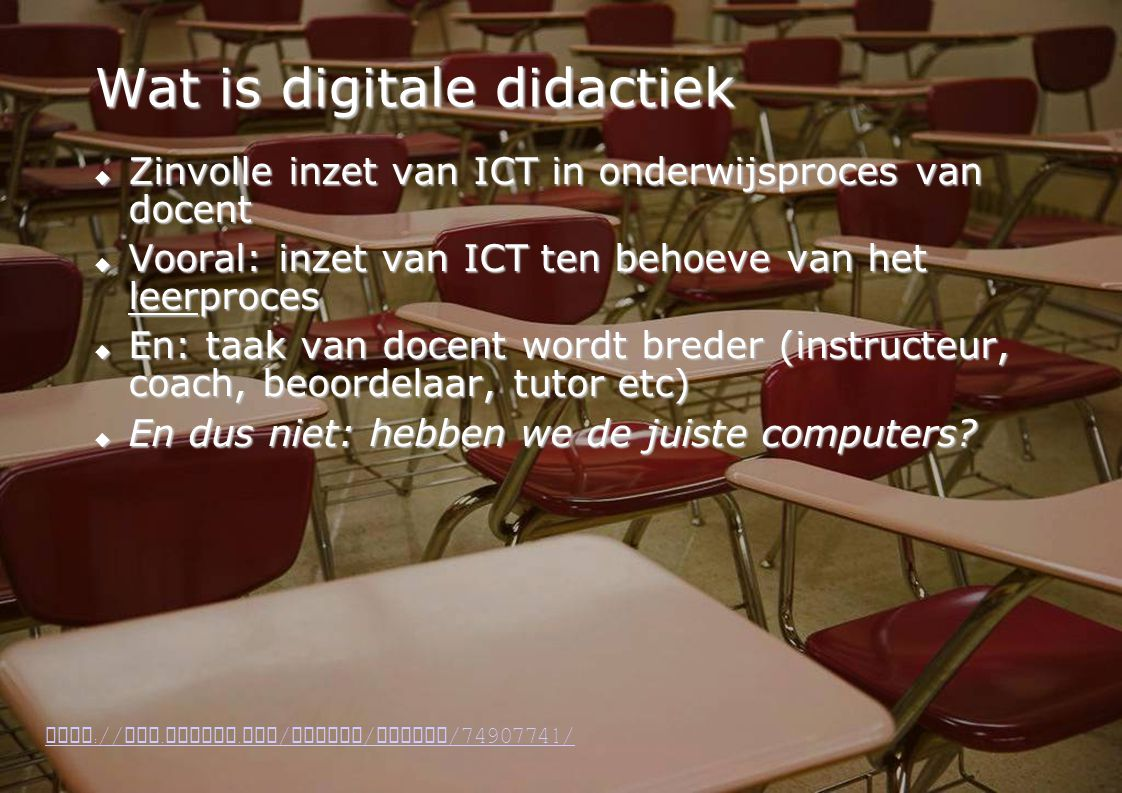 Wat is digitale didactiek