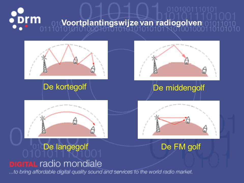 Voortplantingswijze van radiogolven