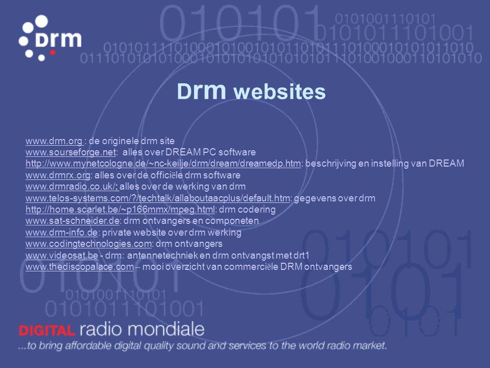 Drm websites
