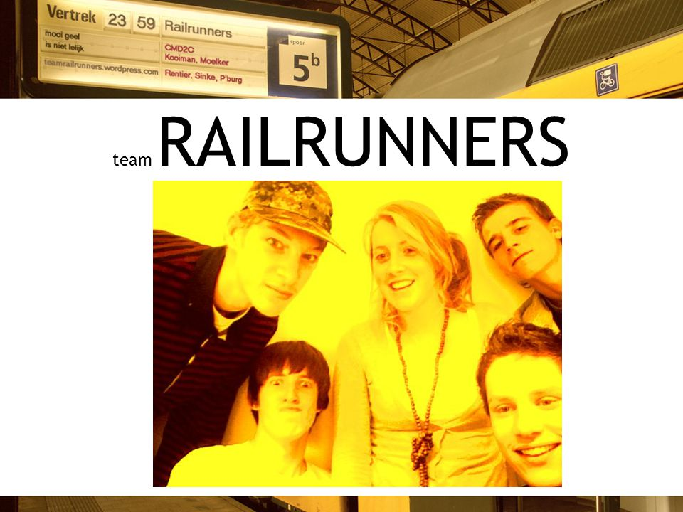 team RAILRUNNERS