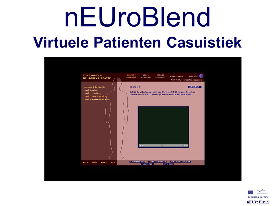 nEUroBlend Virtuele Patienten Casuistiek