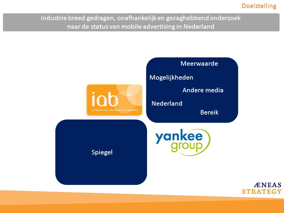 Industrie breed gedragen, onafhankelijk en gezaghebbend onderzoek