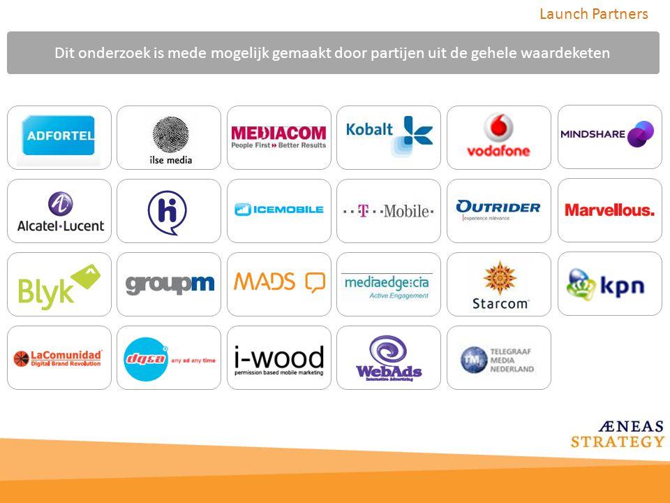 Launch Partners Dit onderzoek is mede mogelijk gemaakt door partijen uit de gehele waardeketen