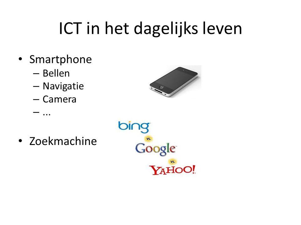 ICT in het dagelijks leven