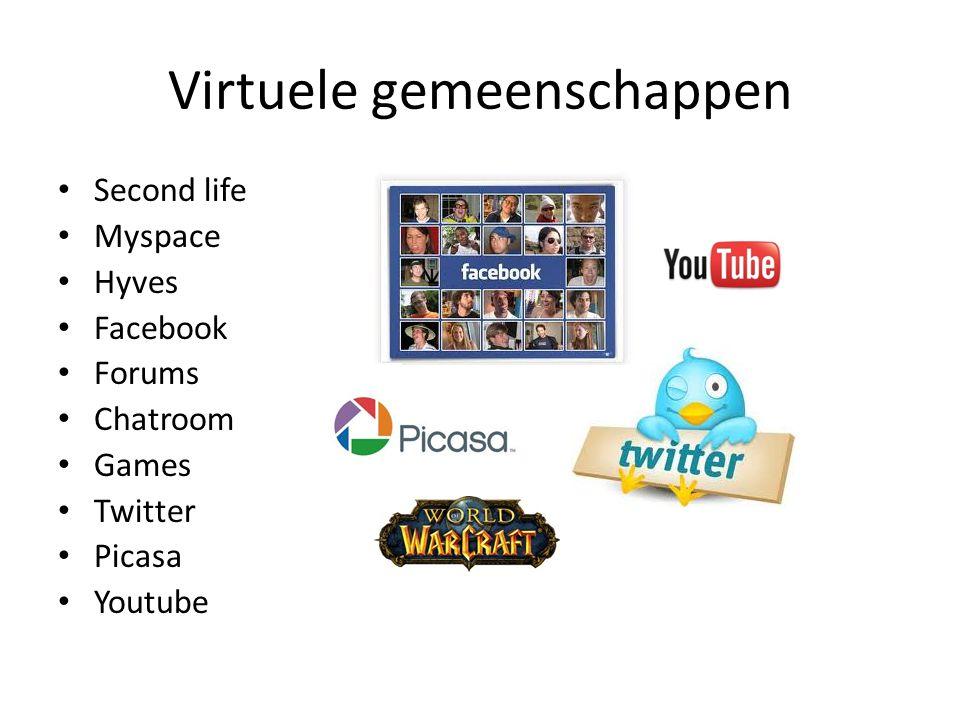 Virtuele gemeenschappen