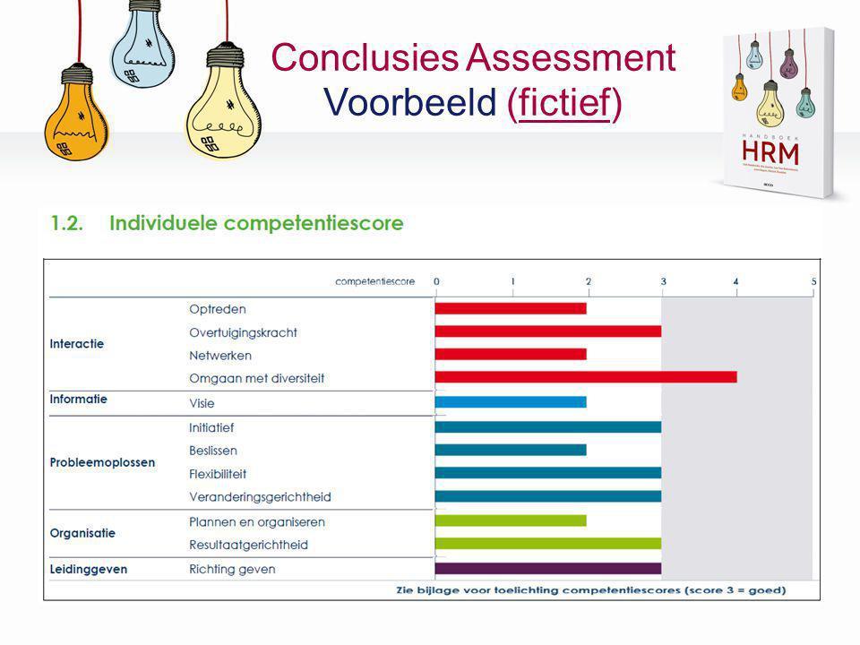 Conclusies Assessment Voorbeeld (fictief)