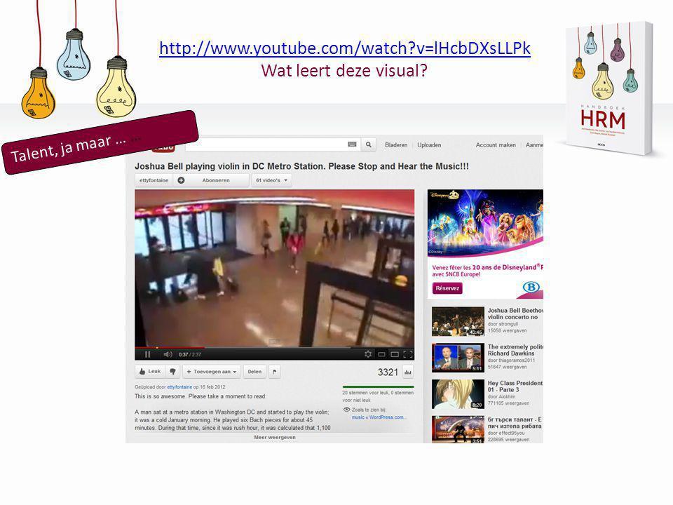 http://www.youtube.com/watch v=lHcbDXsLLPk Wat leert deze visual