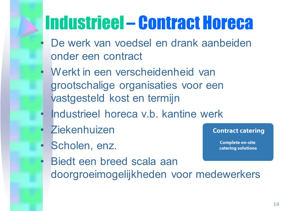 Industrieel – Contract Horeca