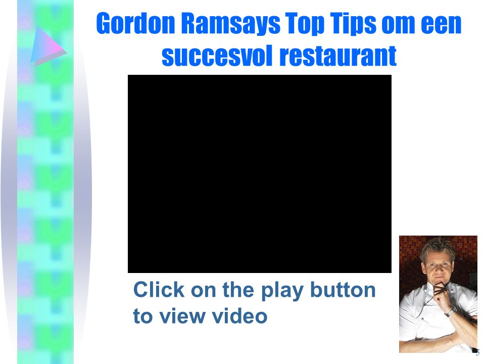 Gordon Ramsays Top Tips om een succesvol restaurant