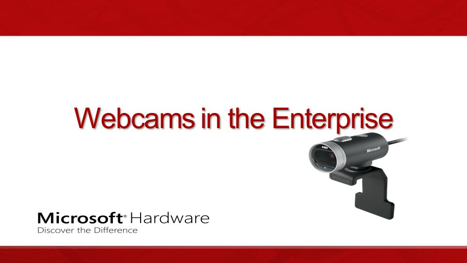 Webcams in the Enterprise