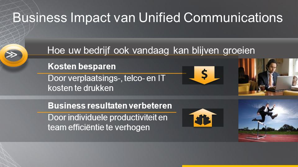 Business Impact van Unified Communications
