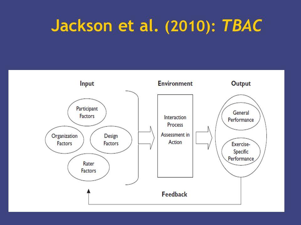Jackson et al. (2010): TBAC