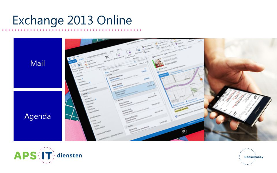 Exchange 2013 Online Mail Agenda