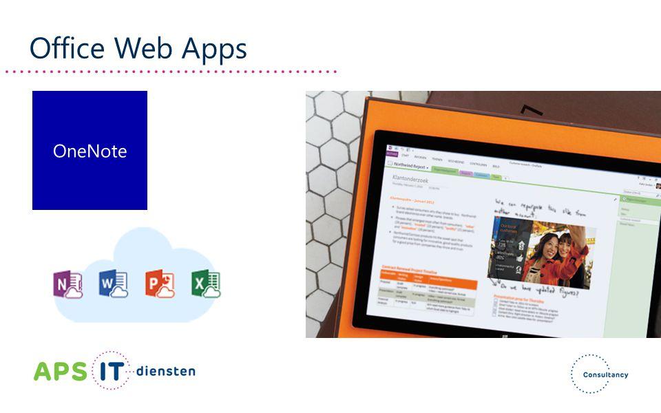 Office Web Apps OneNote