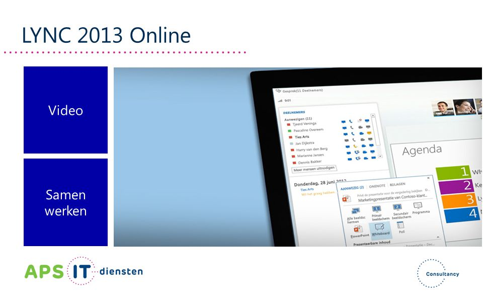 LYNC 2013 Online Video Samen werken