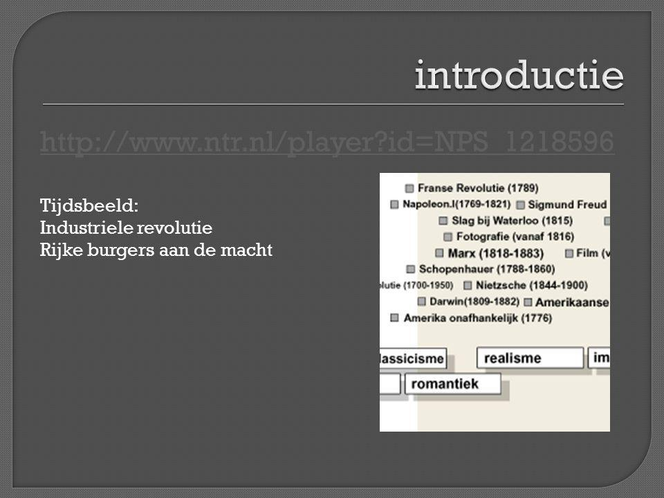 introductie http://www.ntr.nl/player id=NPS_1218596 Tijdsbeeld: