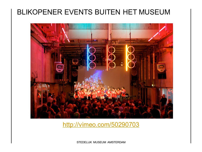 BLIKOPENER EVENTS BUITEN HET MUSEUM