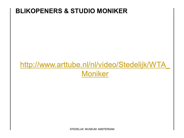 BLIKOPENERS & STUDIO MONIKER