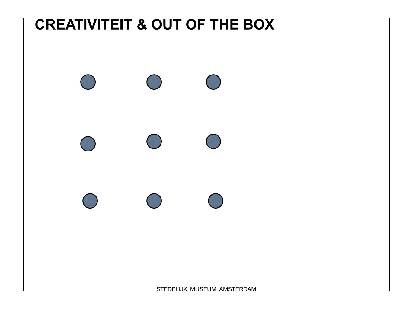 CREATIVITEIT & OUT OF THE BOX