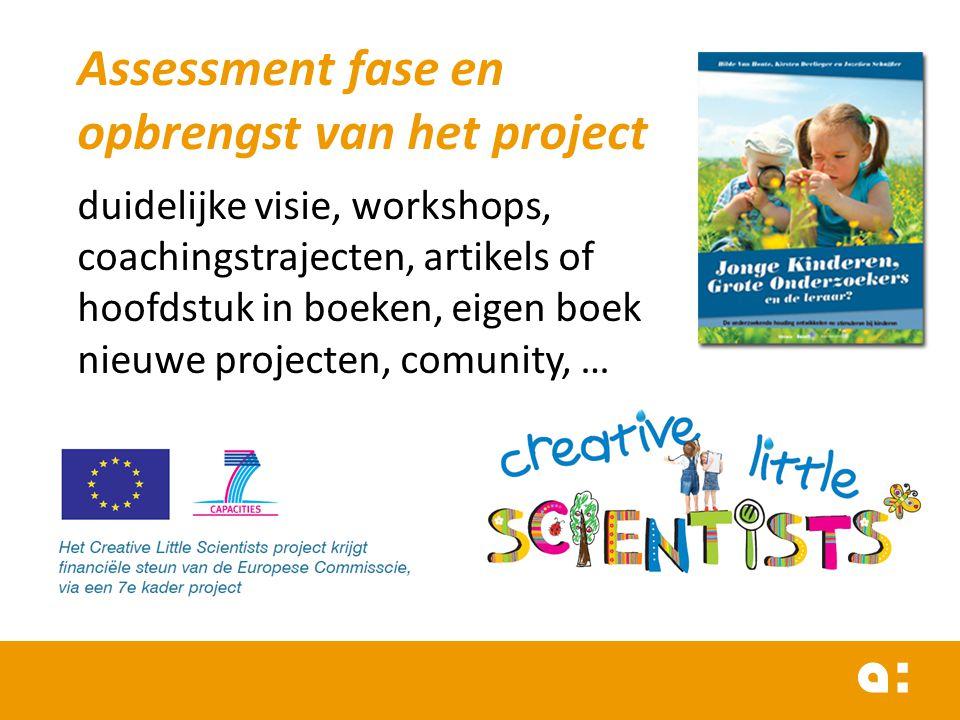 Assessment fase en opbrengst van het project