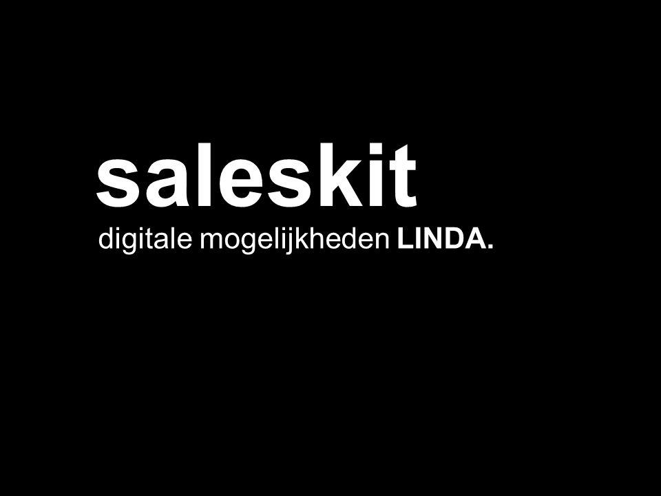 saleskit digitale mogelijkheden LINDA.