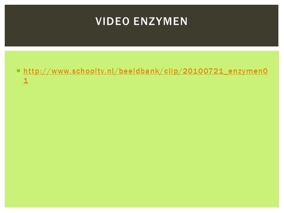 Video enzymen http://www.schooltv.nl/beeldbank/clip/20100721_enzymen01